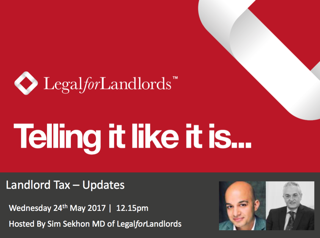 Landlord Tax – the issue that won't go away