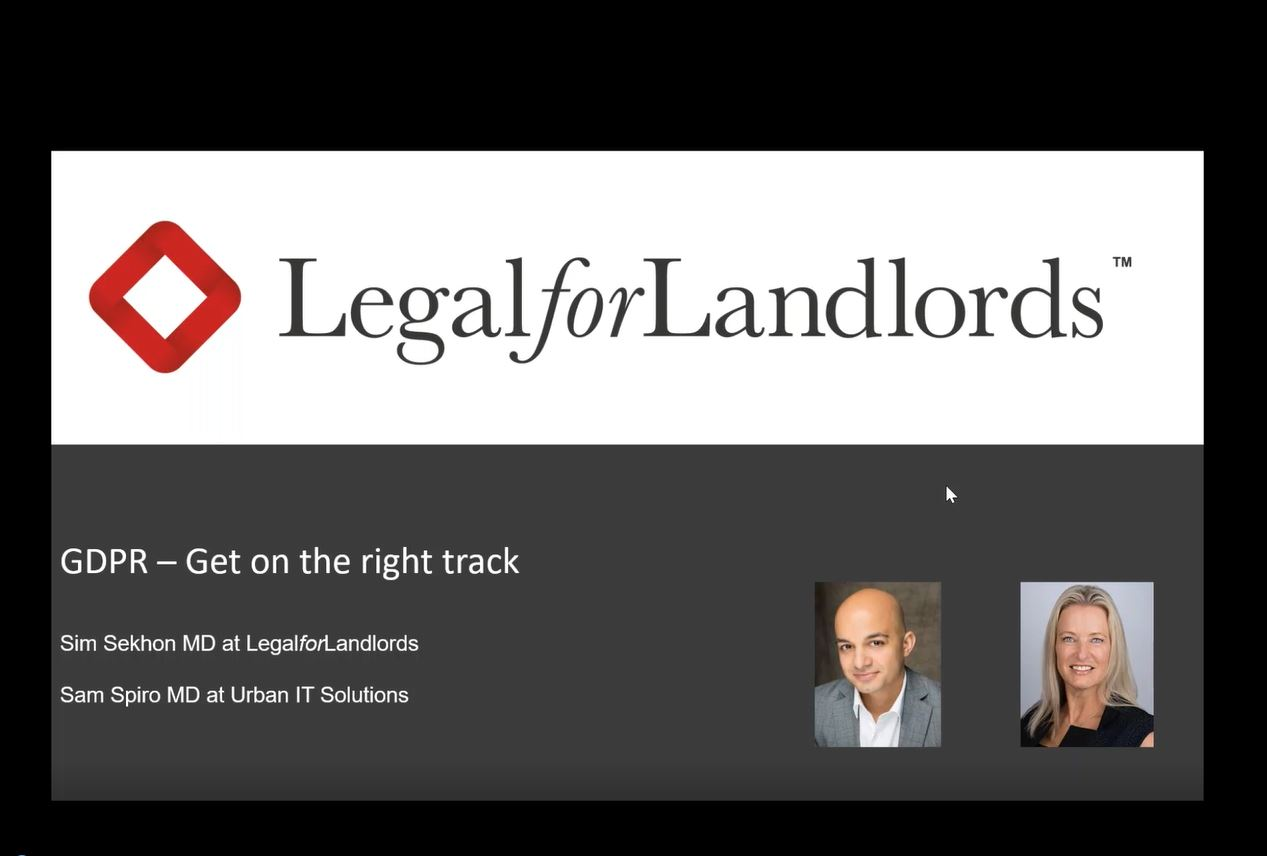 GDPR for Landlords and Letting Agents
