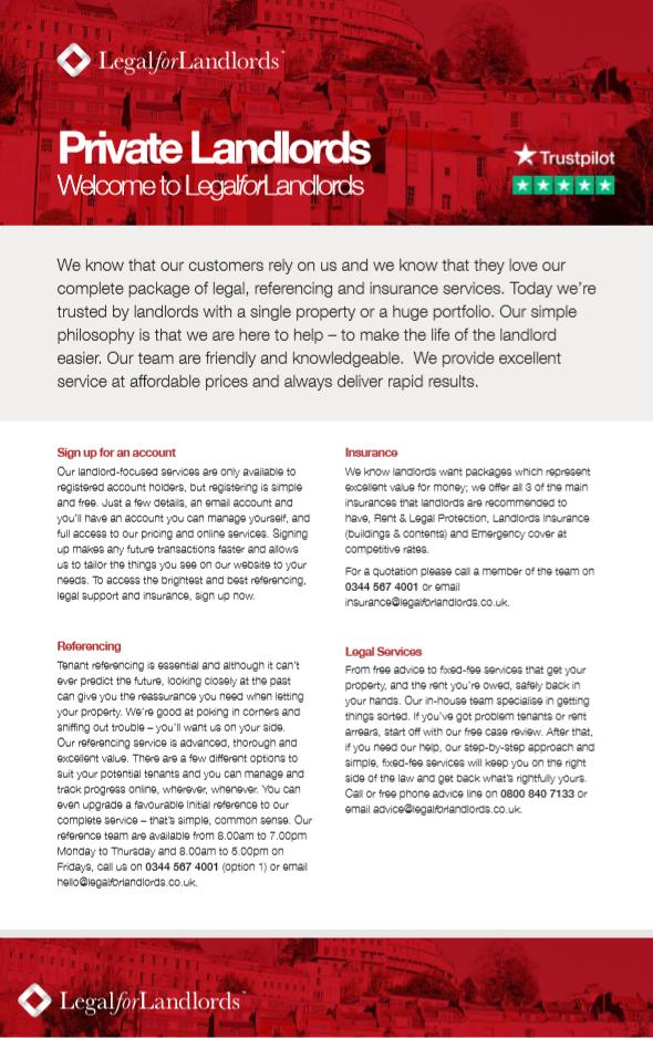 Private Landlords Checklist