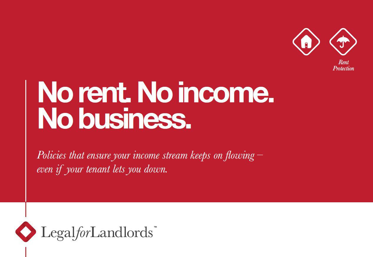 No rent. No income. No business.