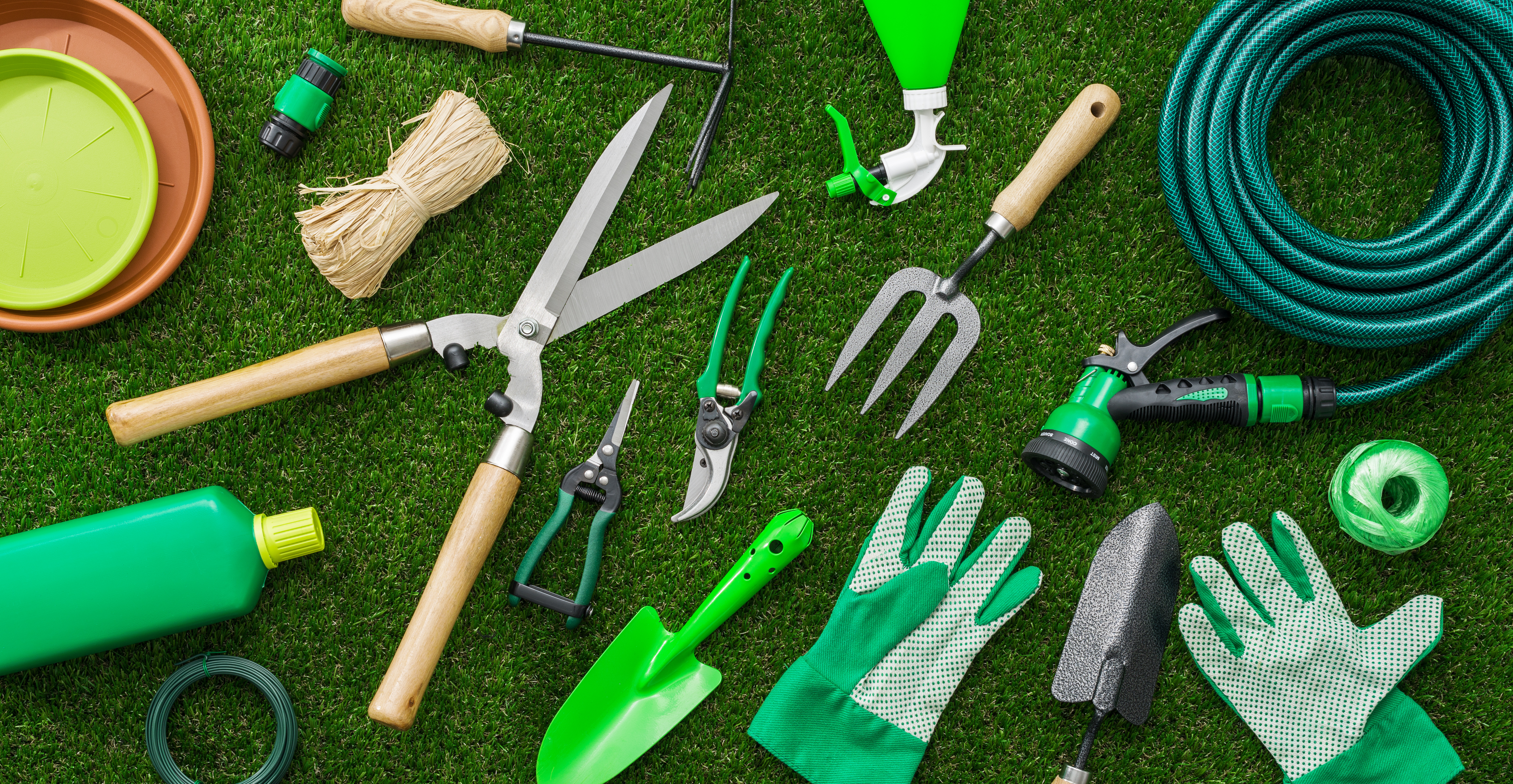 Renting a home with a garden?