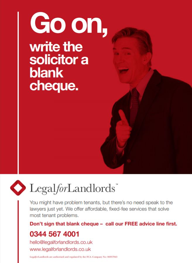 Go on, write a solicitor a blank cheque