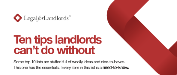 Ten tips landlords can't do without