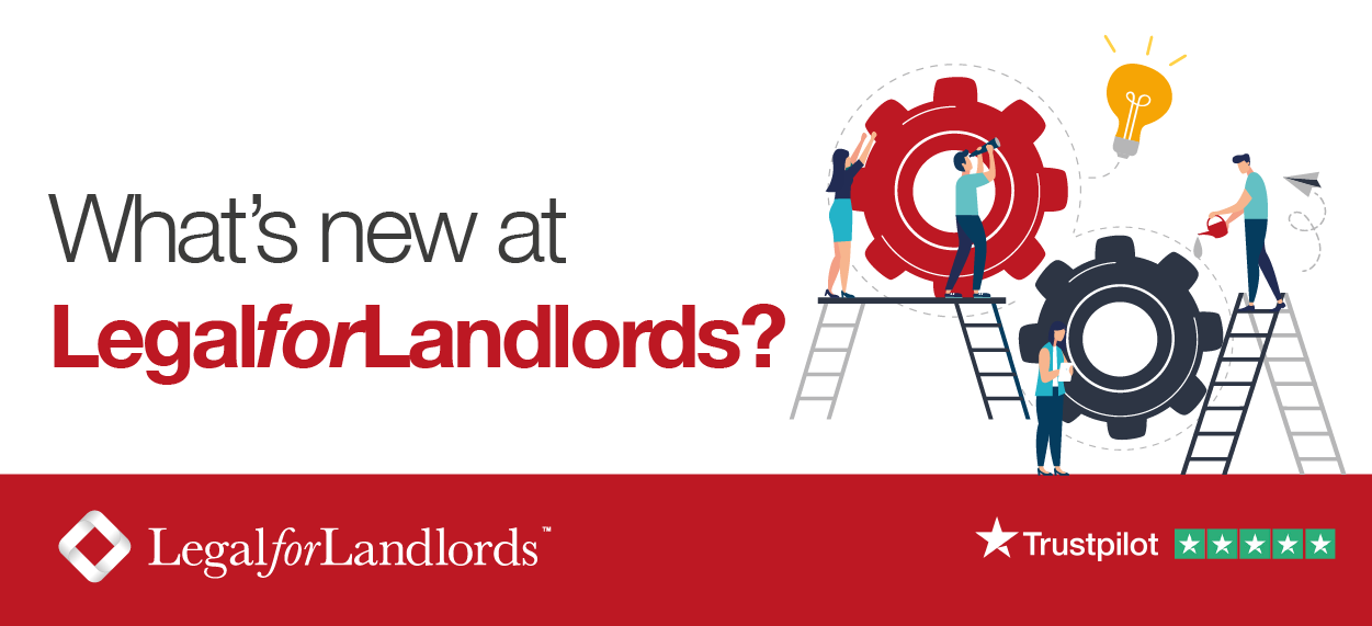 What's new at LegalforLandlords?