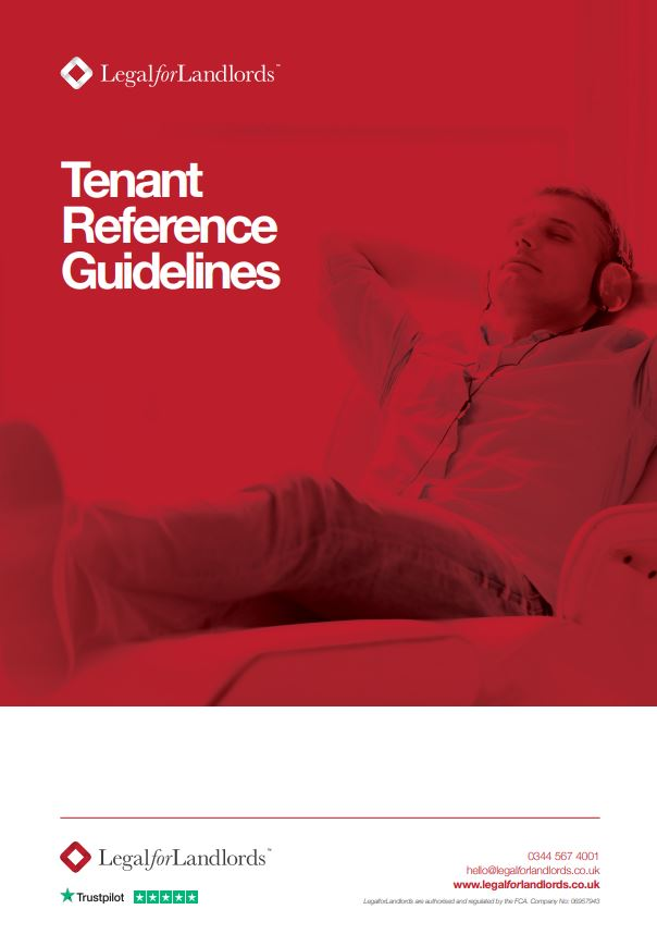 Tenant Reference Guidelines