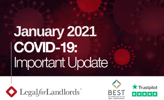 Important COVID Update: January 2021